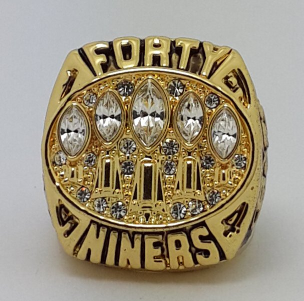 1994 San Francisco 49ers super bowl championship ring size 11 US