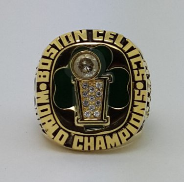 1986 Boston Celtics Basketball Championship ring BIRD replica size 12 US