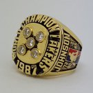 1987 Los Angeles Lakers Basketball Championship ring JOHNSON replica size 10 US