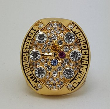 2008 Pittsburgh Steelers ring super bowl championship ring size 11 US