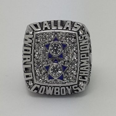 1977 Dallas Cowboys XII ring super bowl championship ring size 11 US