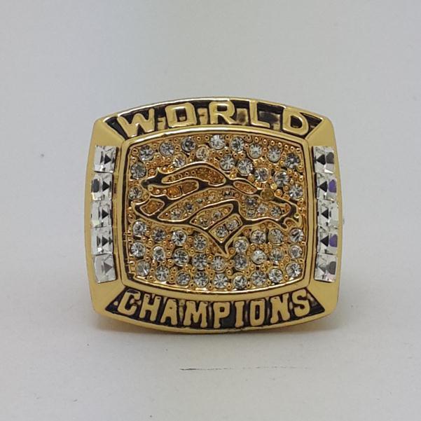1997 Denver Broncos super bowl championship ring size 11 US