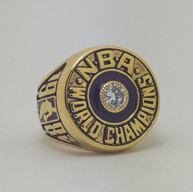 1982 Los Angeles Lakers ring Basketball Championship ring JOHNSON replica size 11 US
