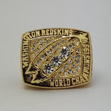 1991 Washington Redskins super bowl championship ring size 11 US
