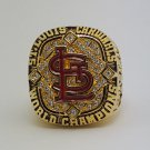 2006 St Louis Cardinals Baseball championship ring size 9-13 US