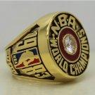1983 Philadelphia 76ers ring Basketball Championship ring Malone replica size 12 US