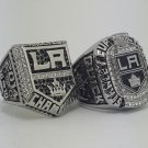 A Set Los Angeles Kings 2012 2014 NHL Ring Hockey championship ring size 11 US 2pcs SUPER VALUE