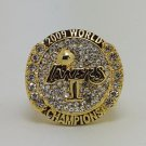 2009 Los Angeles Lakers ring Basketball Championship ring replica size 10 US