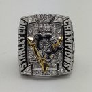 2009 NHL Pittsburgh Penguins championship ring size 11 US back solid