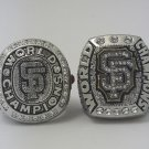 2PCS San Francisco Giants world series MLB ring 2010 2014 championship ring size 11 US