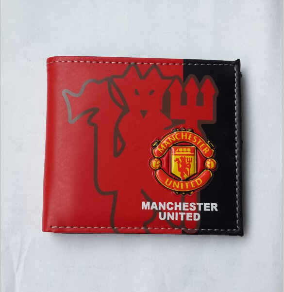 110x98 Manchester United wallet football soccer purse PU fashion beauty