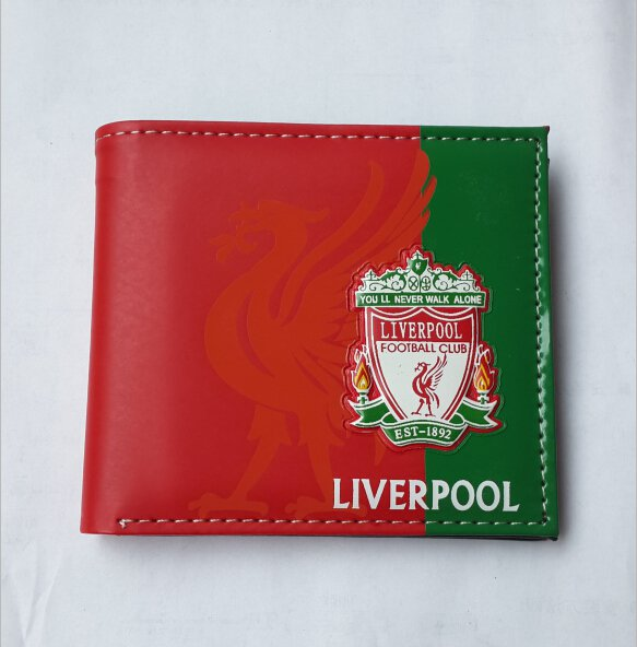110x98 LIVERPOOL football club wallet football soccer purse PU fashion beauty