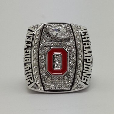 2014 Big Ten Ohio State Buckeyes football Championship Ring NCAA size 9-13 US