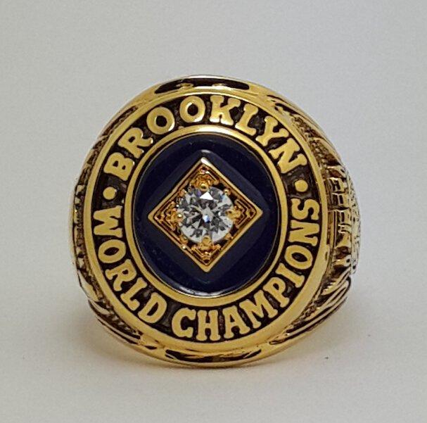 1955 Brooklyn Dodgers Baseball championship ring MLB ring size 9-13 US