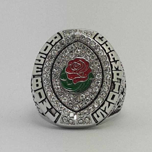 Oregon Ducks 2015 Rose Bowl Football Championship Ring MARIOTA NCAA football ring size 9-14 US