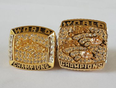 1997 1998 Denver Broncos ring super bowl championship ring size 11 US