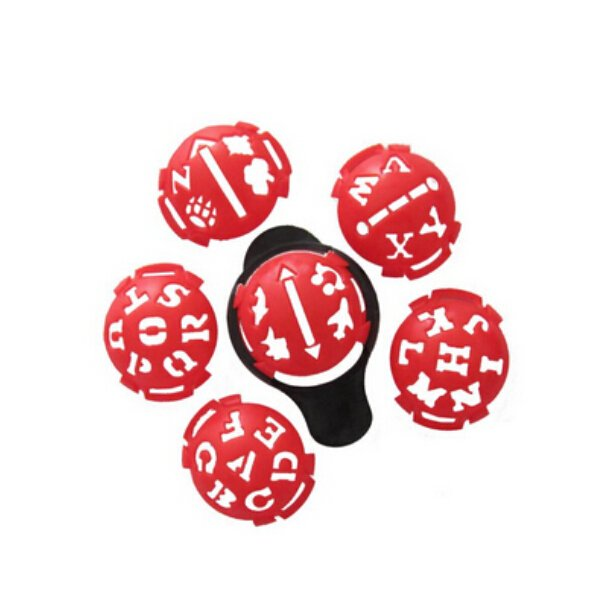 Golf Ball Line Liner Marker Template Drawing Alignment Tool Ball Monogrammers