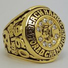 1961 Chicago Blackhawks Stanley Cup NHL Hockey championship ring size 9-14 US