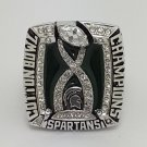 2015 Michigan State Spartans Cotton Bowl NCAA Championship Ring Size 8-14 Back Solid