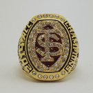 2014 & 2015 Florida State FSU Seminoles ACC Championship ring NCAA 9-14S Back Solid