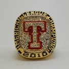 2010 Texas Rangers AL American League baseball championship ring size 11 US