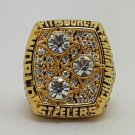 1978 Pittsburgh Steelers ring super bowl championship ring size 11 US