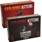 Exploding Kittens Card Game Bundle
