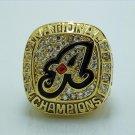 2012 Alabama Crimson Tide SEC Championship Copper Ring Size 8-14
