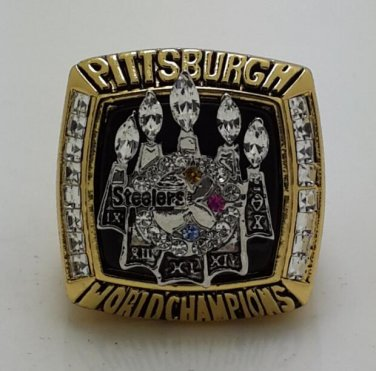 2005 Pittsburgh Steelers Ring super bowl championship ring size 11 US