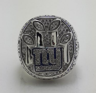 2011 New York Giants super bowl championship ring size 8-14 US MANNING