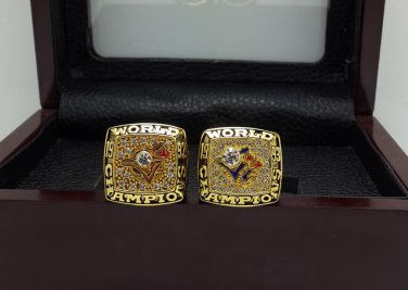 1992 1993 Toronto Blue Jays MLB ring Baseball championship ring size 11 US + Wooden Case