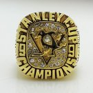 1991 NHL Pittsburgh Penguins Stanley Cup Championship ring size 8-14 US