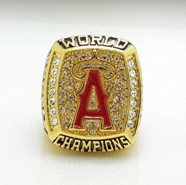 2002 Anaheim Angels Baseball World Series Championship ring size 11 US  + Wooden Box