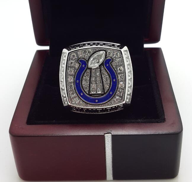 2006 Indianapolis Colts super bowl championship ring size 8-14 US with wooden box