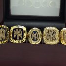 1977 1996 1998 1999 2000 New York Yankees World Series Championship rings + Wooden case