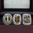 A set Miami Heat 2006 2012 2013 Basketball Championship ring replica size 10 US + Wooden Box