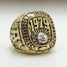 1979 Alabama Crimson NCAA National Championship ring size 11 US