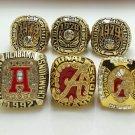 1973 1978 1979 1992 2009 2011 Alabama Crimson NCAA National Championship ring size 11 US