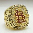 2006 St Louis Cardinals World Series Baseball Championship ring size 8-14 US