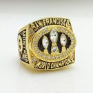 1988 San Francisco 49ers super bowl championship ring size 11 US