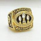 1988 San Francisco 49ers super bowl championship ring size 11 US