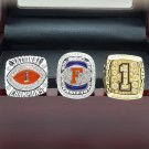 One set 2008 Florida Gators BCS SEC + NCAA National Championship ring 8-14 SIZE + BOX