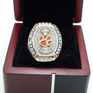 Clemson Tigers 2015 2016 ACC National Championship Ring 8-14S+BOX