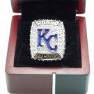 2015 2016 Kansas City Royals American League baseball championship ring size 11 + BOX