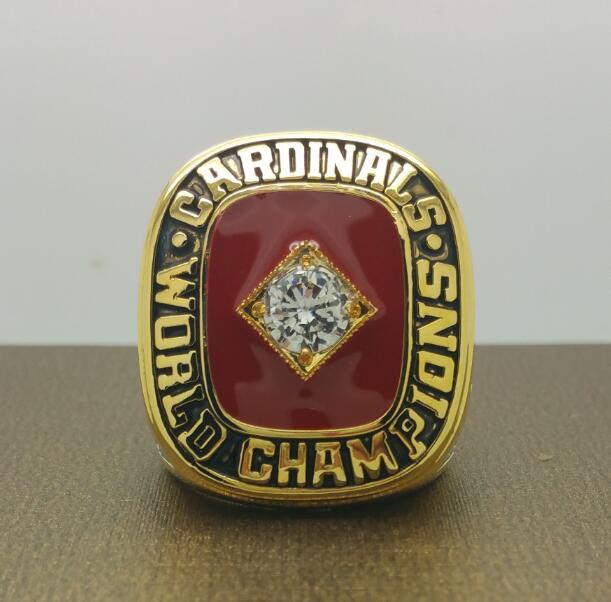 1982 St Louis Cardinals Baseball World series championship ring size 8-14 US