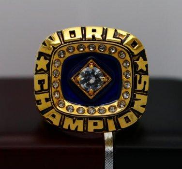 1978 New York Yankees World Series Baseball championship ring size 8-14 US + Wooden Box