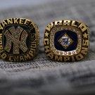 1977 1978 New York Yankees World Series Baseball championship rings size 8-14 US