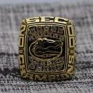 2000 Florida Gators SEC National Football Championship Solid Ring 8-14Size