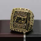 2000 Florida Gators SEC National Football Championship Solid Ring 8-14Size + Wooden Box