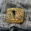 1998 Atlanta Falcons NFC National Football Championship ring size 8-14 US
